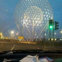 Photo taken at Rise (The Balls On The Falls) by Jesi L. on 3/23/2012
