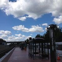 Photo taken at Vienna/Fairfax-GMU Metro Station by Arielle R. on 9/10/2012