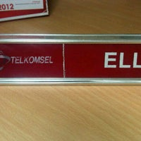 Photo taken at GraPARI Telkomsel by Ella H. on 2/24/2012