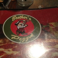 Photo taken at Brothers Pizza by Mary P. on 7/20/2012