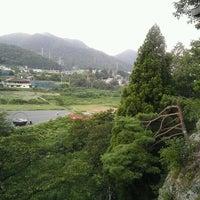 Photo taken at 唐松山 護国寺 (唐松観音) by enooooo on 8/22/2012