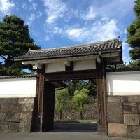 Photo taken at Sakuradamon Gate by Hiroyuki I. on 8/14/2012