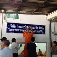 Photo taken at บจก.อินเตอร์เซฟเทรดดิ้ง by PEERAWAT P. on 5/1/2012