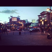 Photo taken at Plaza Foch by Andres on 7/28/2012