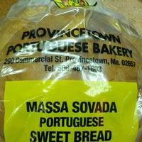 Photo taken at Provincetown Portuguese Bakery by Jennifer K. on 9/2/2012