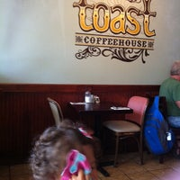 Photo taken at Toast Coffeehouse by Gia A. on 9/7/2012