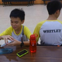 Photo taken at Whitley Secondary School by Kenichi on 6/15/2012