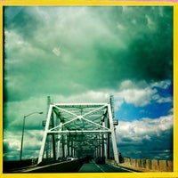 Photo taken at Outerbridge Crossing by JC on 4/12/2012