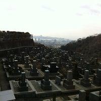 Photo taken at 長峰墓地 by Katsuyoshi T. on 2/17/2012