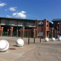 Photo taken at Hawks Field at Haymarket Park by Ashley B. on 7/15/2012