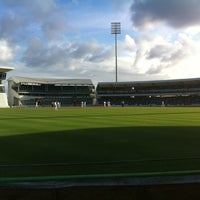Photo taken at Kensington Oval by Garreth W. on 4/10/2012