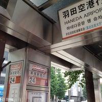 Photo taken at Bus Stop 24 - Shinjuku Sta. West Exit by Ponpoko_Sue on 5/17/2012