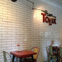 Photo taken at CAFE TOLIX by Cindy C. on 5/11/2012