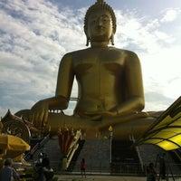 Photo taken at Wat Muang by Aue K. on 8/4/2012