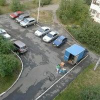 Photo taken at Детская площадка by В Ы. on 8/18/2012