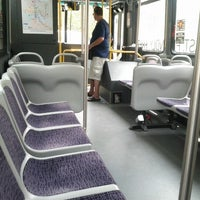 Photo taken at Charm City Circulator - Orange Route by Frank D. on 8/6/2012