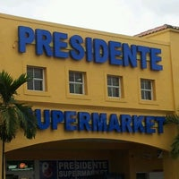 Photo taken at Presidente Supermarket by Mike S. on 2/11/2012