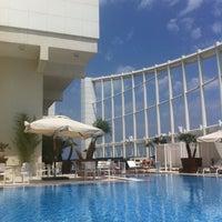 Photo taken at Four Seasons Hotel Beirut by Dara J. on 5/13/2012
