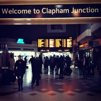 Photo taken at Clapham Junction Railway Station (CLJ) by Rodrigo F. on 5/18/2012