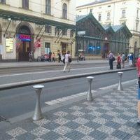 Photo taken at Prague Masaryk Railway Station by Gerardo v. on 6/18/2012