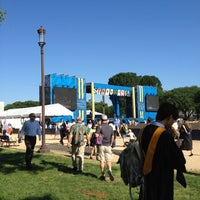 Photo taken at GWU Graduation Ceremony on the National Mall 2012 by Alex D. on 5/20/2012