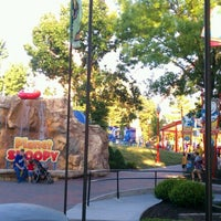 Photo taken at Camp Snoopy by Kyle G. on 6/23/2012