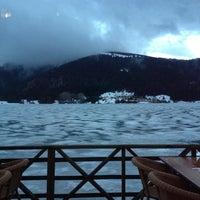 Photo taken at Abant Göl Cafe & Restaurant by Gizem T. on 4/14/2012