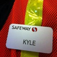 Photo taken at Safeway by Kyle on 8/2/2012