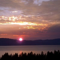 Photo taken at Edgewood Tahoe Golf Course by Braunwyn J. on 8/15/2012
