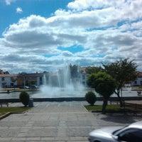Photo taken at Figueira de Castelo Rodrigo by Lurdes on 7/7/2012