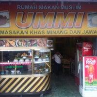 Photo taken at Rumah makan ummi by Bayu S. on 6/23/2012