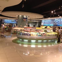 Photo taken at The Landmark Supermarket by Milbeth on 3/8/2012