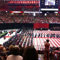 Photo taken at TTU - United Supermarkets Arena by Charles H. on 5/20/2012