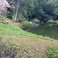 Photo taken at Mohri Garden by nama e. on 9/13/2012