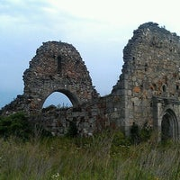 Photo taken at Готичний Храм (руїни) / The Gothic Temple (ruins) by Alex B. on 6/25/2012