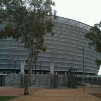 Photo taken at Cape Town Stadium by Nii on 6/25/2012