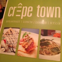 Photo taken at Crepe Town by Atakorn T. on 9/8/2012