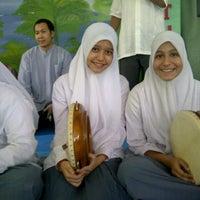 Photo taken at SMA Lazuardi GIS by Mutia S. on 7/19/2012