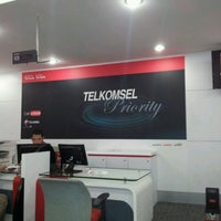 Photo taken at Grapari Telkomsel by roven O. on 2/16/2012