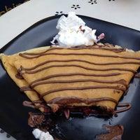 Photo taken at Melt Gelato & Crêpe Café by Ruby F. on 6/3/2012