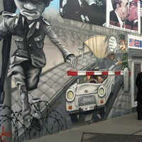 Photo taken at East Side Gallery by Adam F. on 7/13/2012
