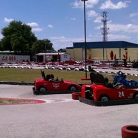 Photo taken at Lil 500 Go Karts by Tim L. on 4/7/2012