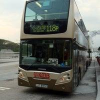Photo taken at Sham Shing Road / Sham Mong Road Bus Stop 深盛路/深旺道巴士站 by eric c. on 3/28/2012