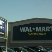 Photo taken at Walmart Supercenter by Benton on 3/9/2012