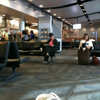 Photo taken at Gate A5 by Eric W. on 6/3/2012