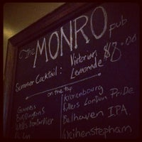 Photo taken at The Monro Pub by Porter B. on 7/4/2012