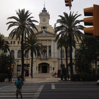 Photo taken at Málaga City Hall by Neemias F. on 6/26/2012