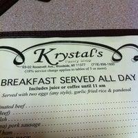 Photo taken at Krystal's Cafe by John D. on 5/24/2012