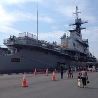 Photo taken at HTMS Chakri Naruebet by p-pang on 4/8/2012