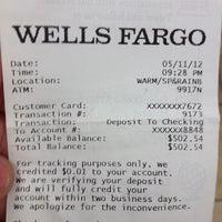 Photo taken at Wells Fargo by Loren L. on 5/15/2012